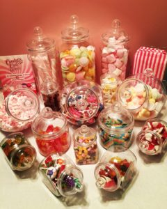 Children's Sweet Buffet - Plastic Sweet Jars