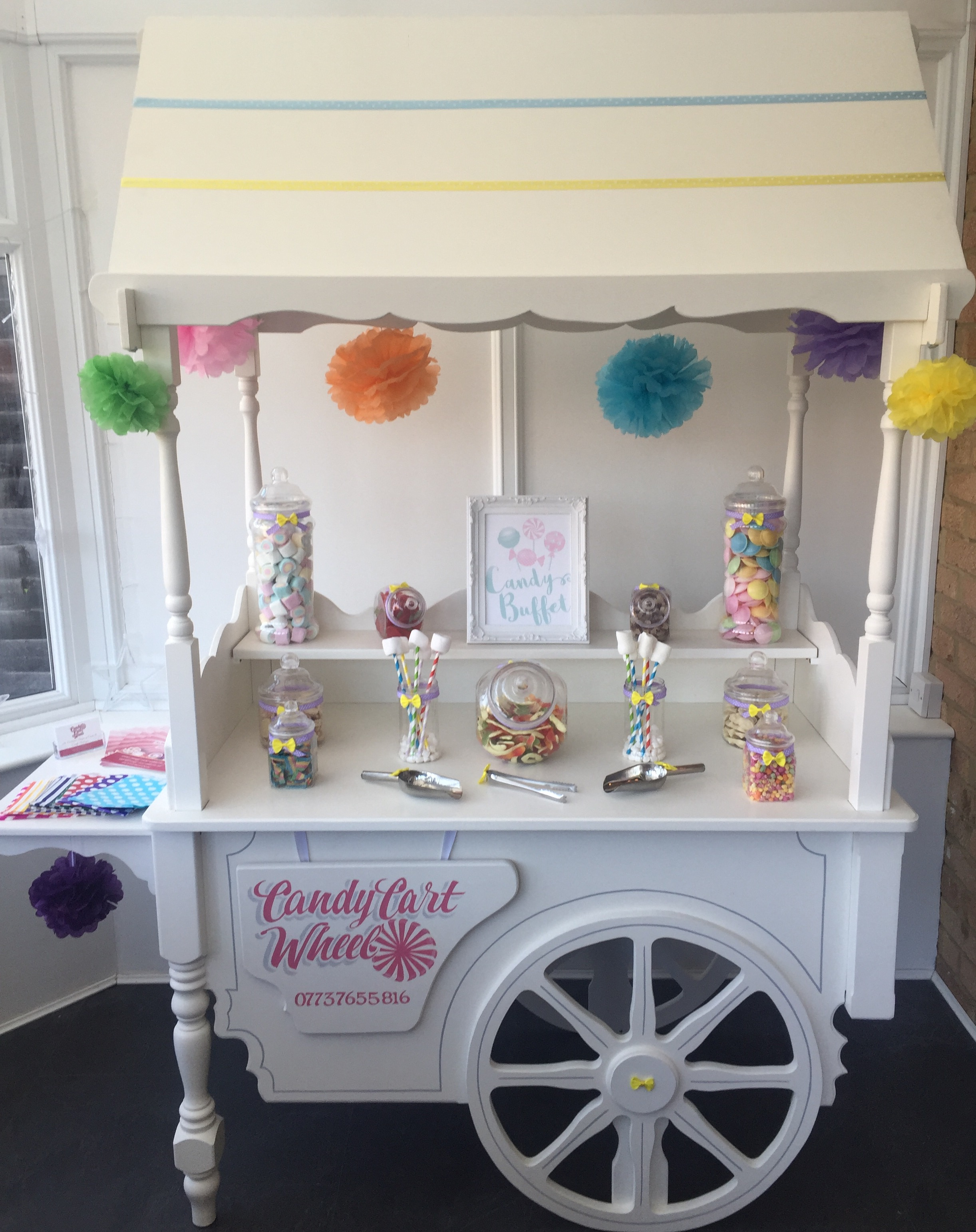 Childrens Sweet Cart