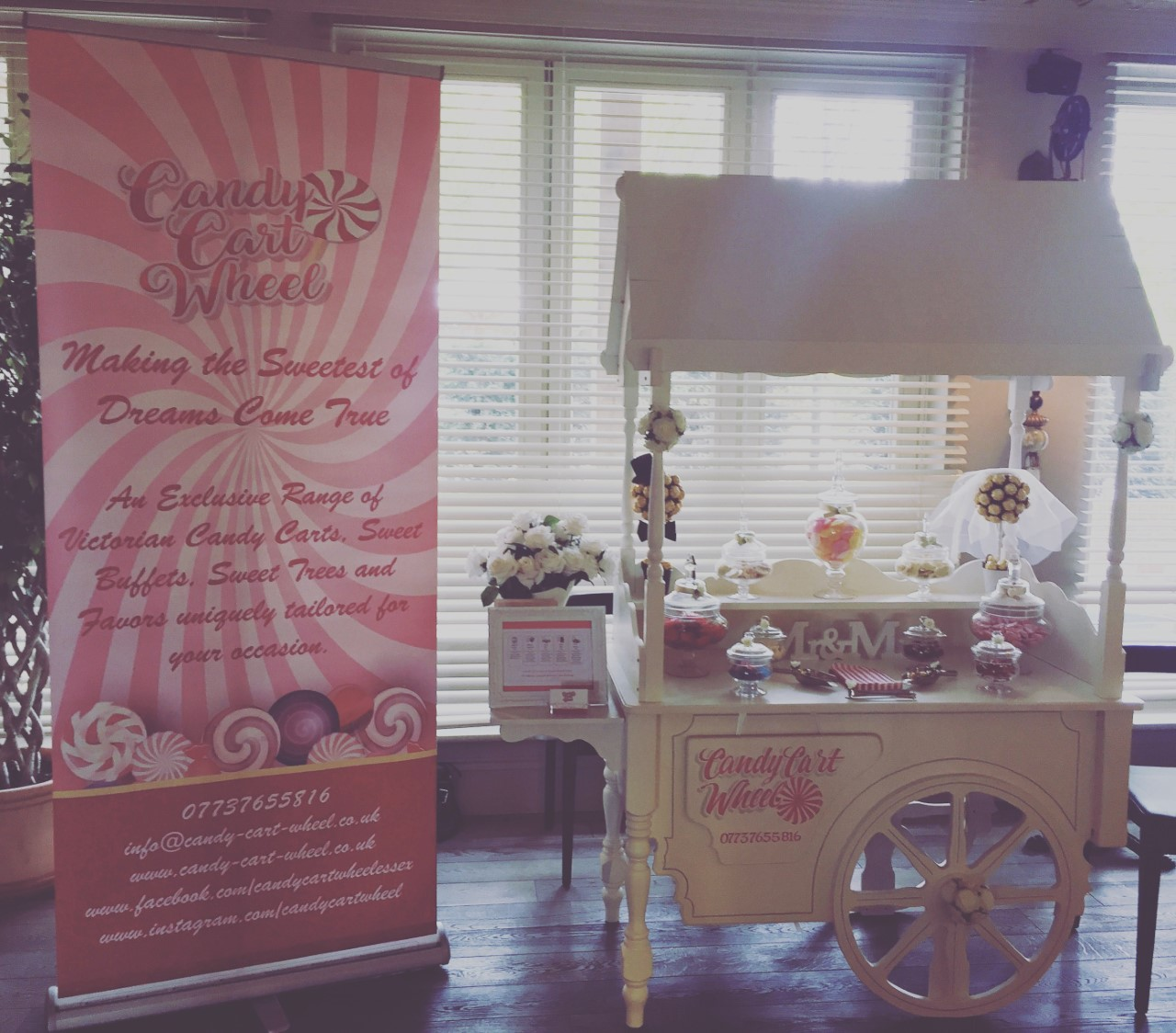 Wedding Fayre Sweet Cart