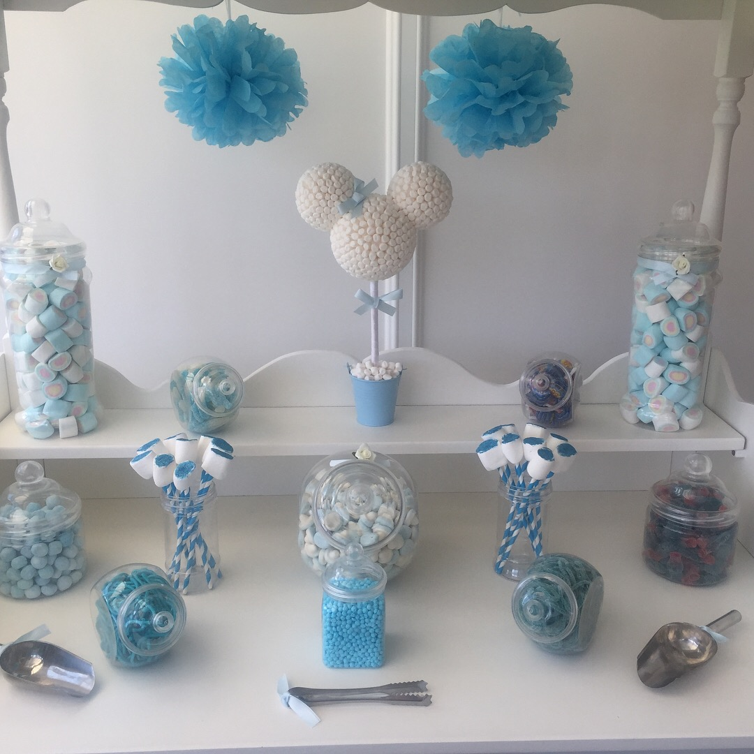 Baby Blue Sweet Buffet