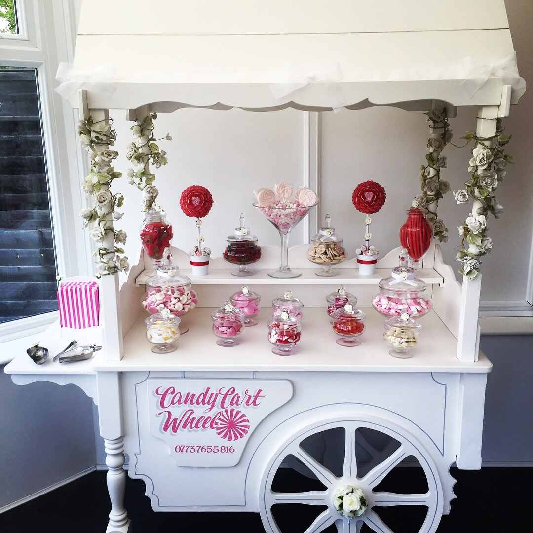 Vintage Rose Sweet Cart