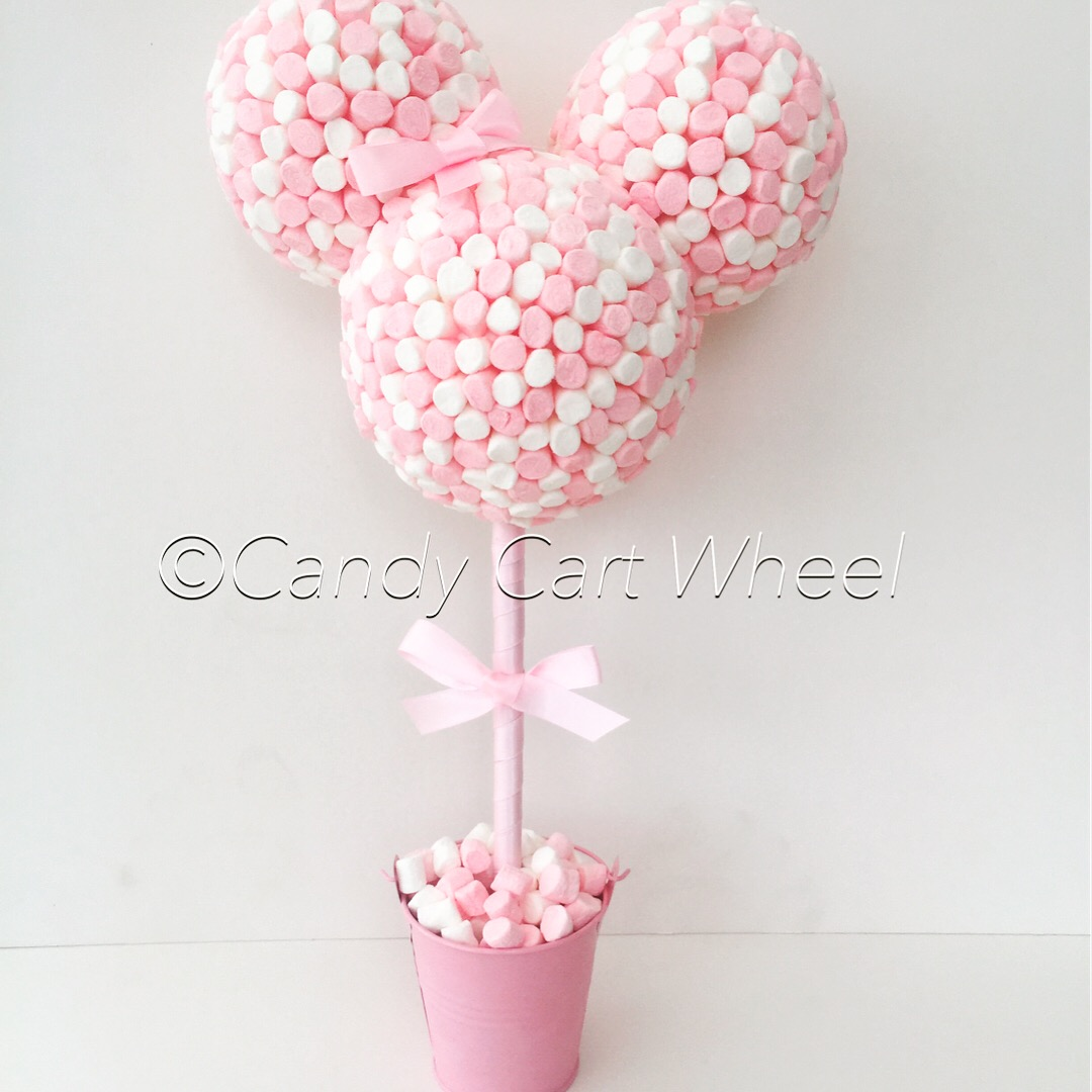 Baby Shower Pink Minnie Mouse Tree