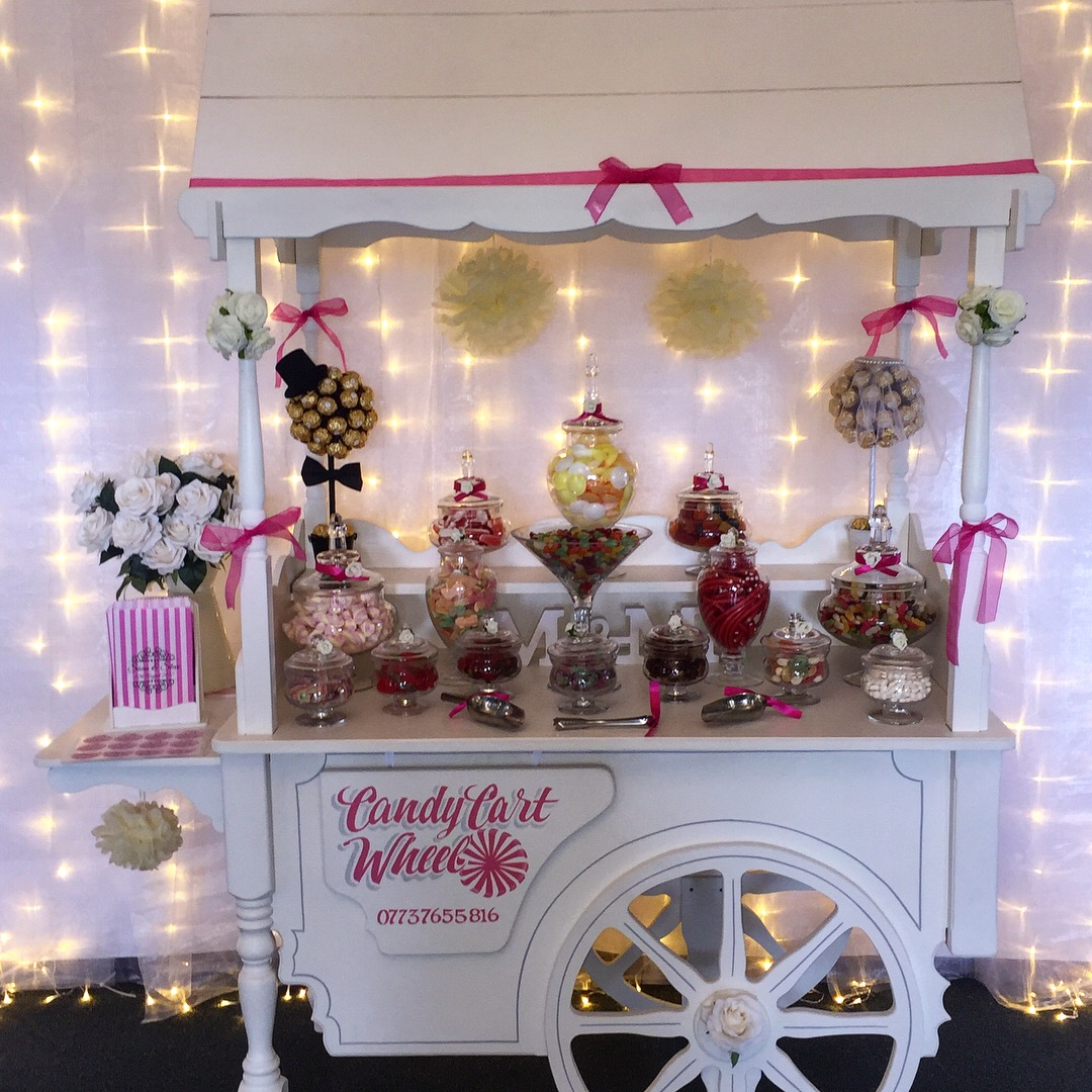 Mr & Mrs Candy Banquet Sweet Cart