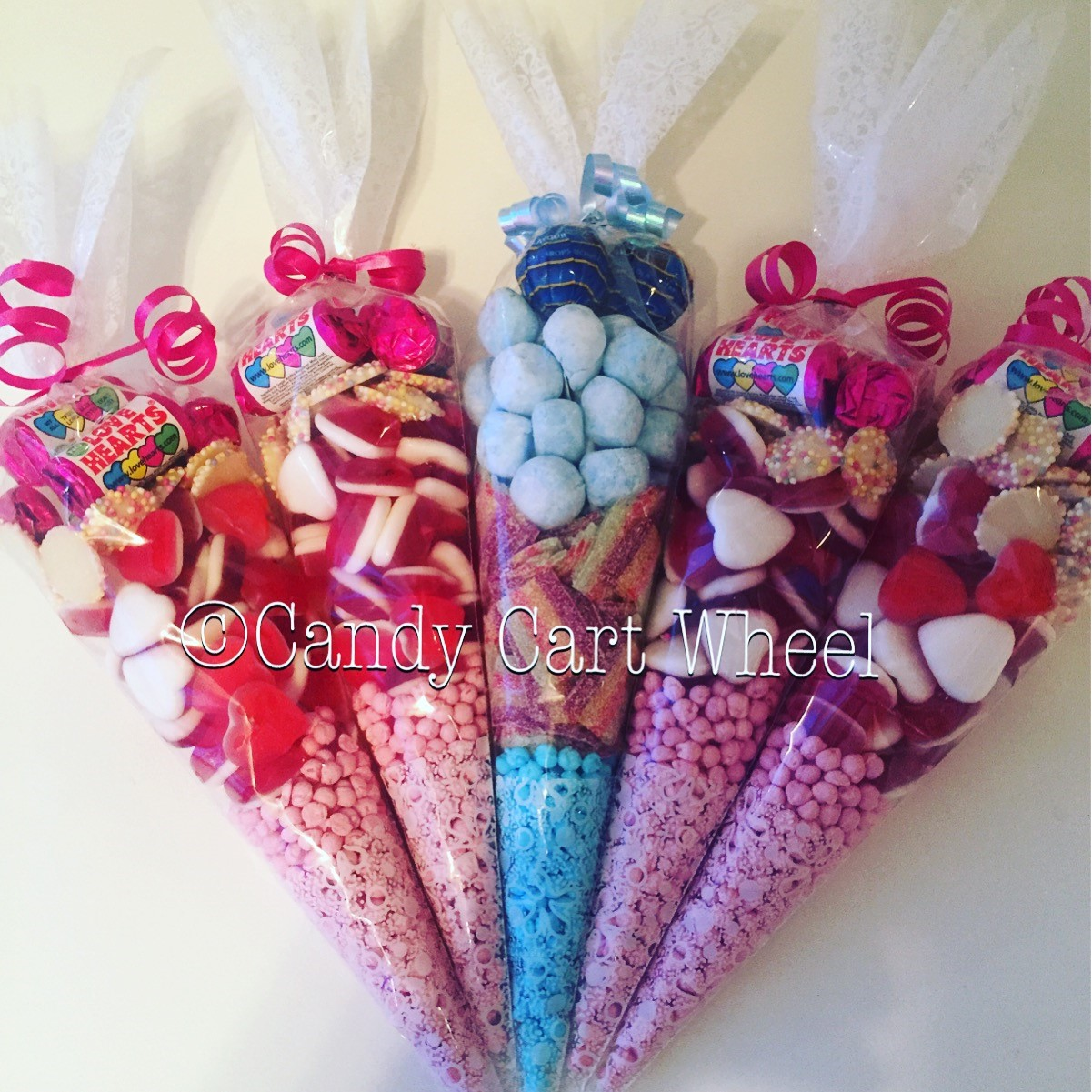 Page Boy & Flower Girl Sweet Cones