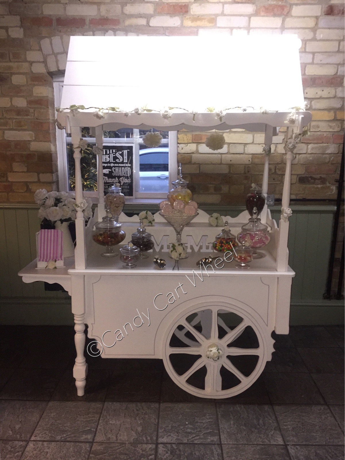 Vintage Wedding Cart