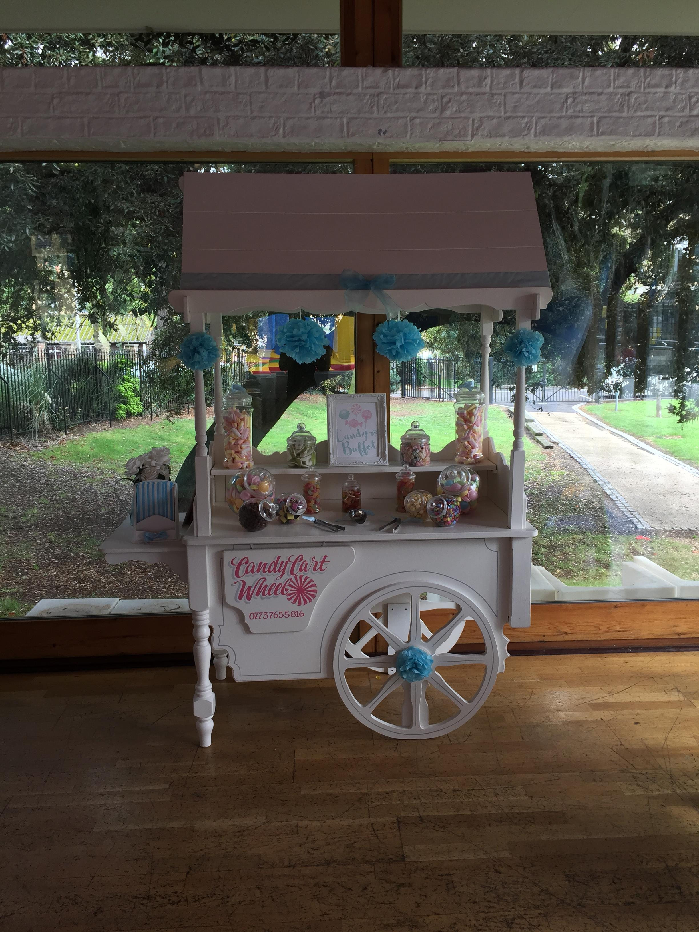 Candy Feast Childrens Christening Sweet Cart