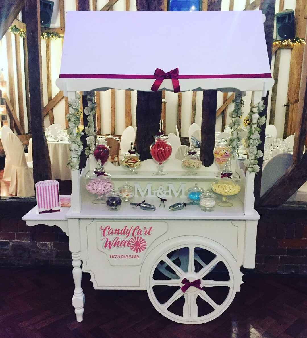 Candy Feast Wedding Sweet Cart