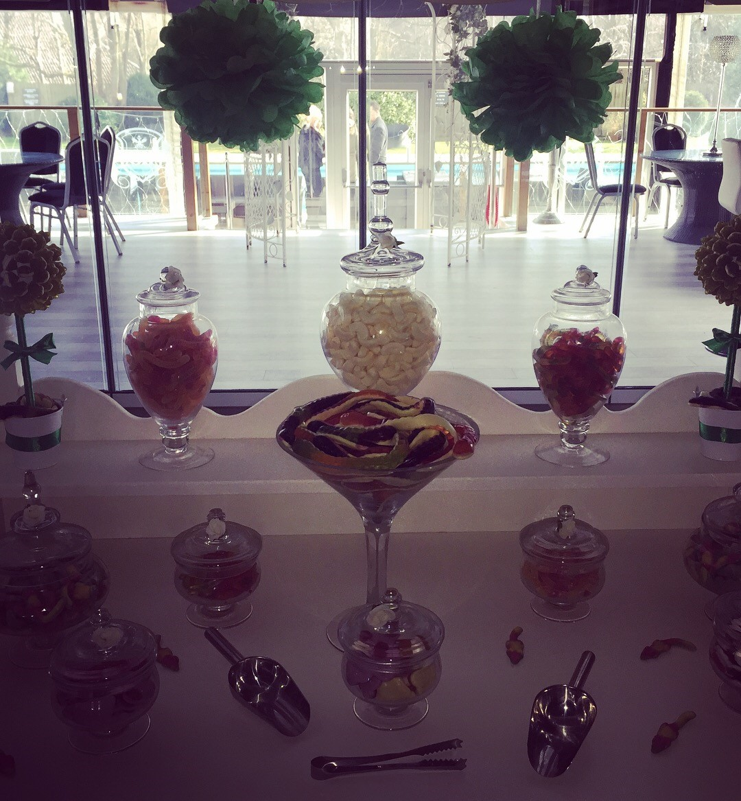 Candy Treat Jungle Theme Sweet Cart