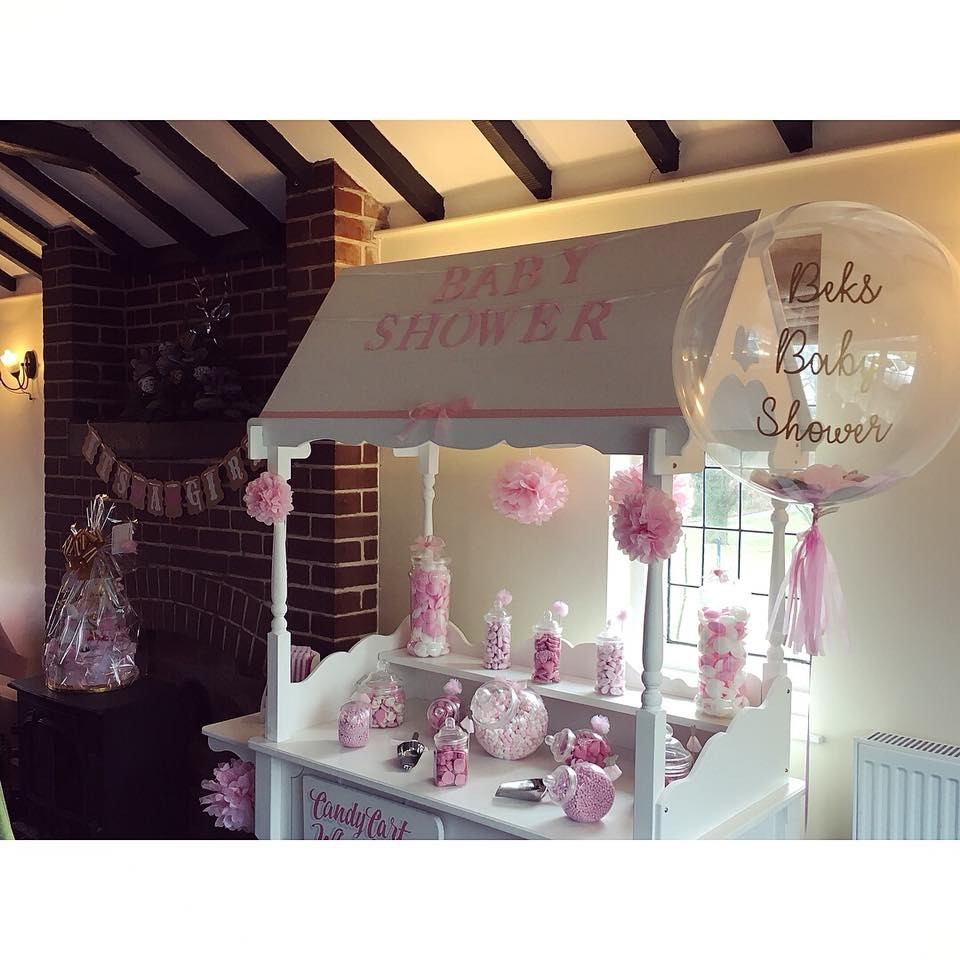 Pink Baby Shower - Plastic Jars