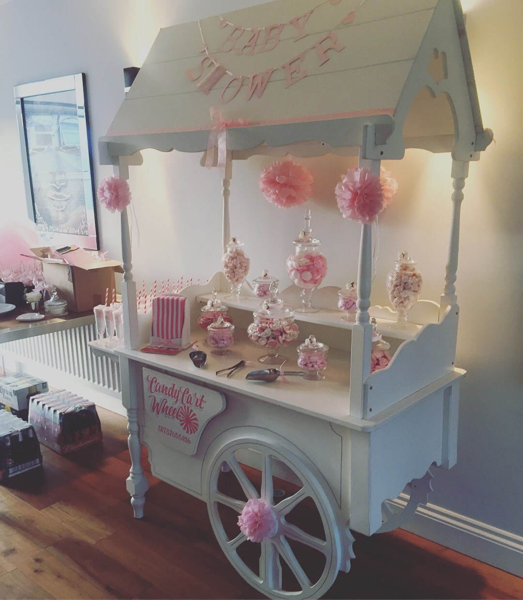 Baby Shower Sweet Treat Cart