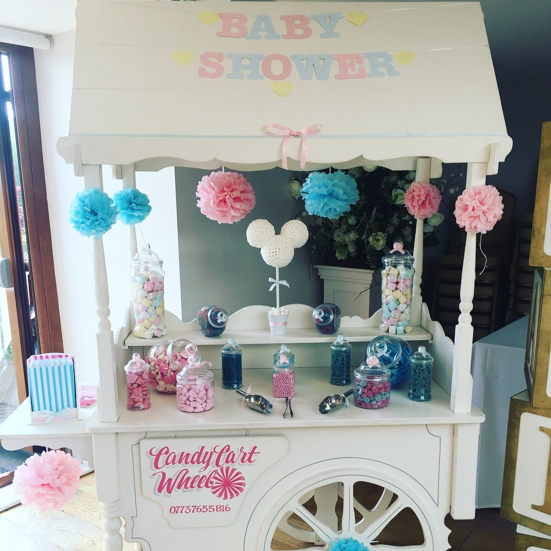 Baby Shower Package Sweet Cart- The Rayleigh Club