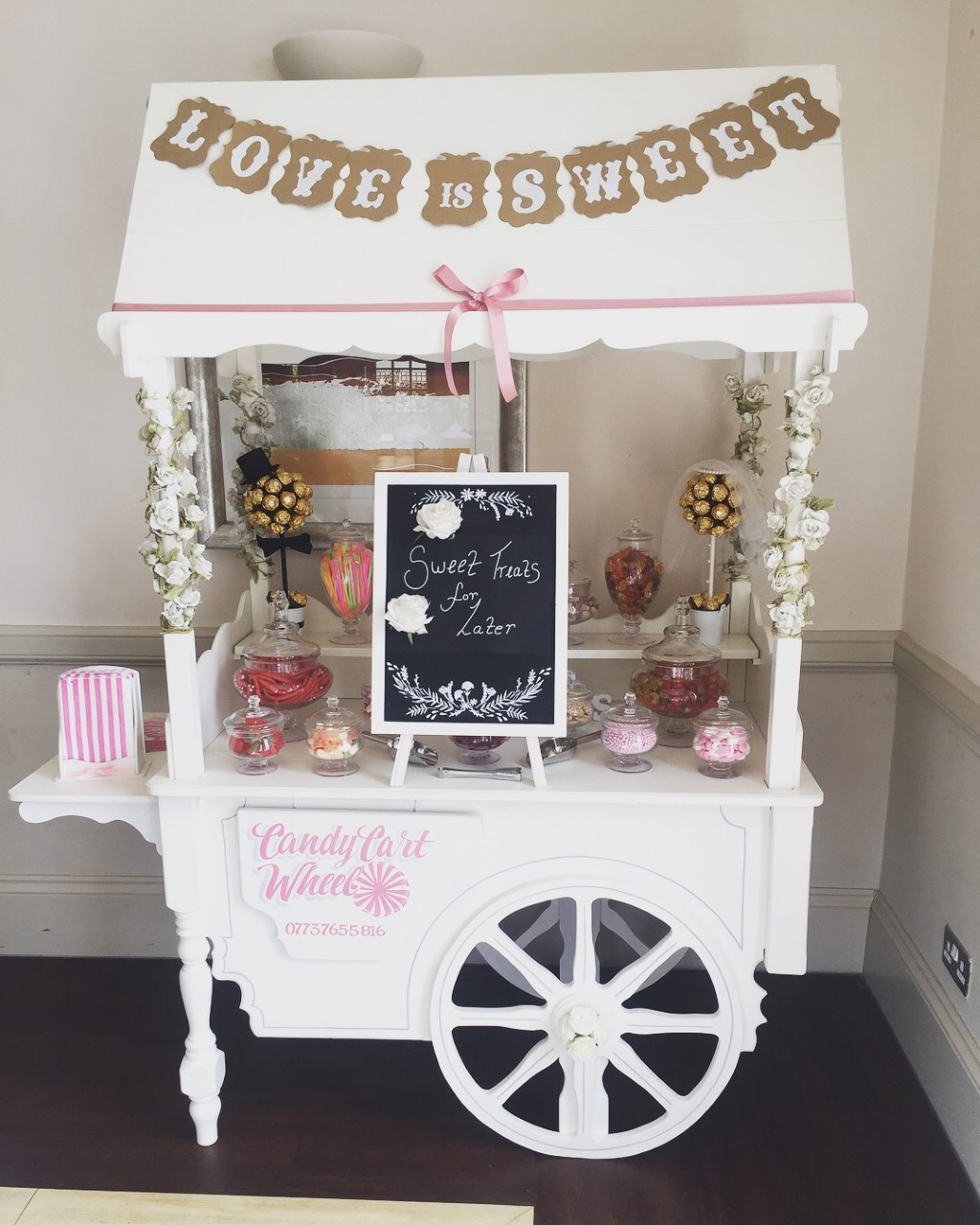 Bride & Groom Candy Banquet - Kings Cliff Hotel Clacton