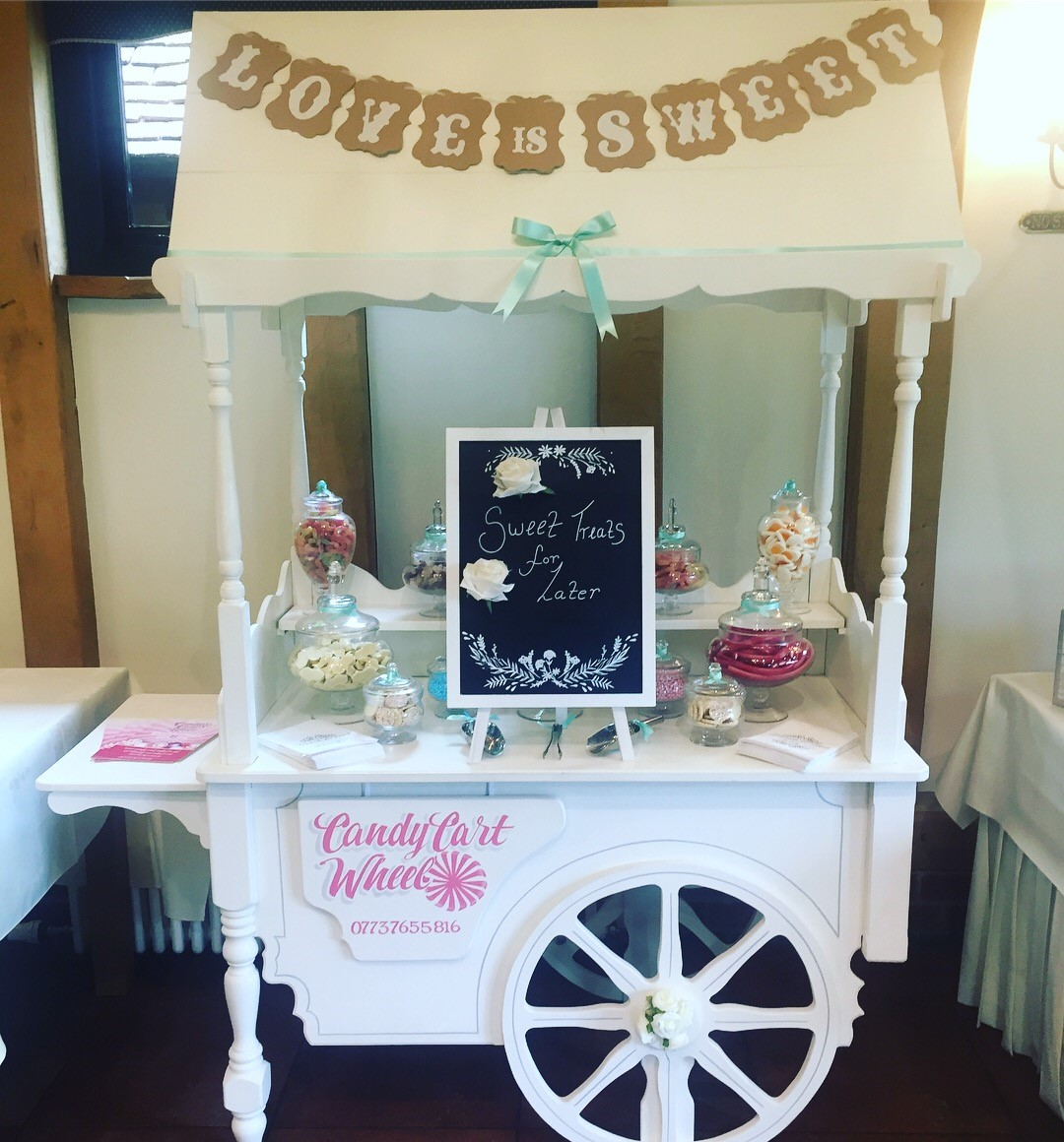 Candy Feast Sweet Cart- Crabbs Barn