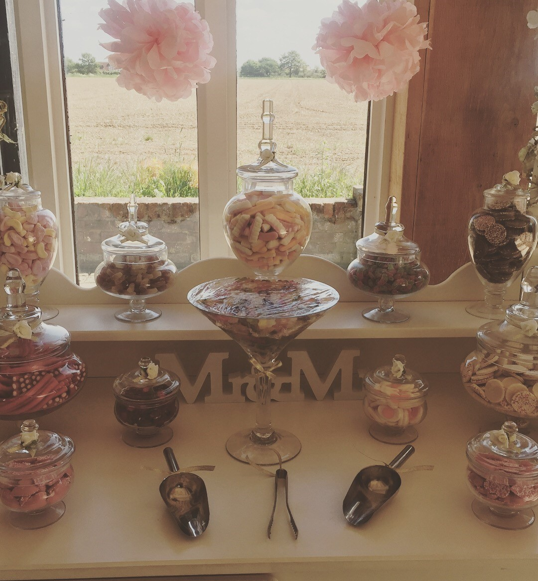 Candy Feast Sweet Cart - Vaulty Manor Essex