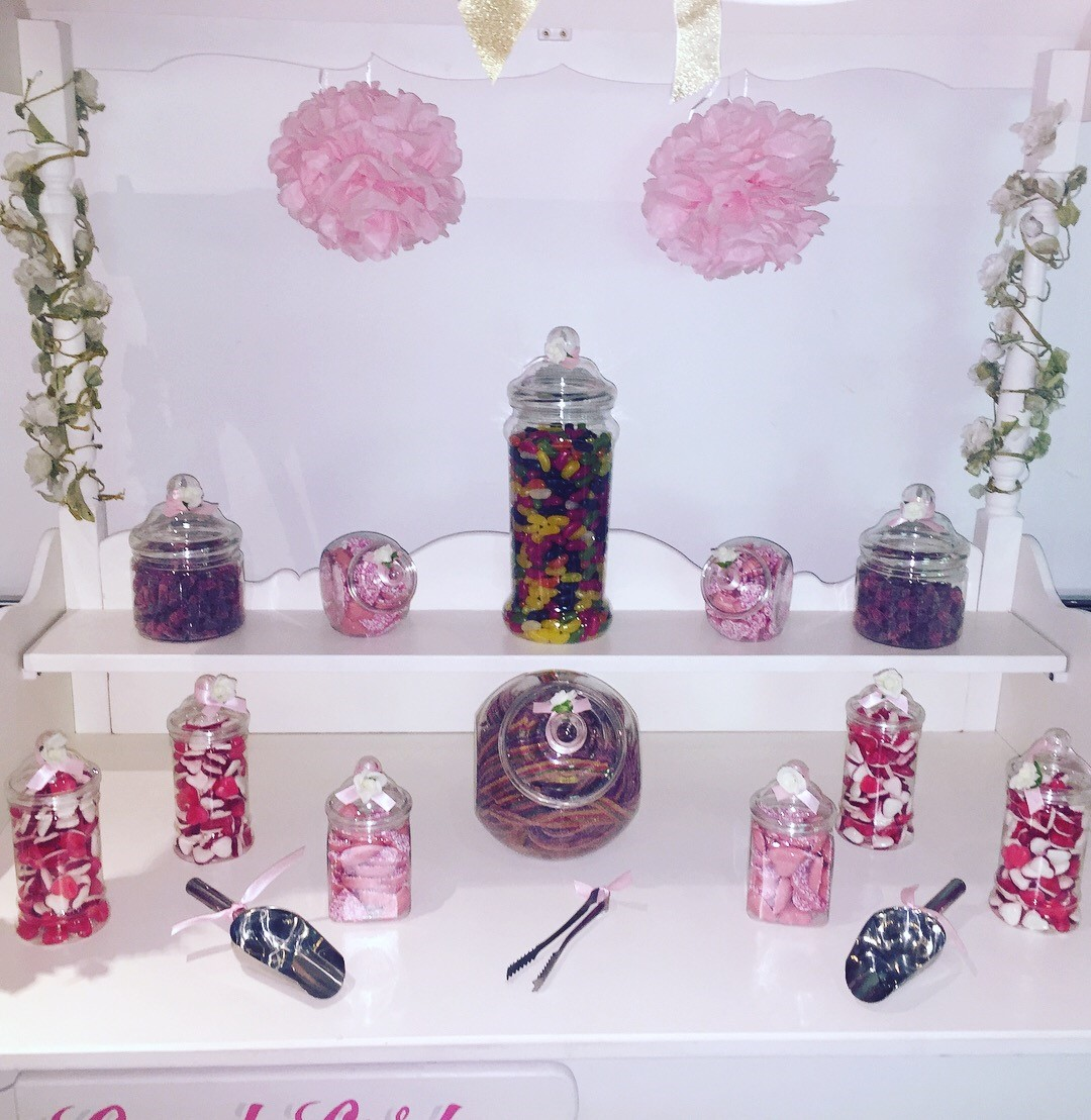 Candy Treat Plastic Jars - Riverside Venue Hounslow