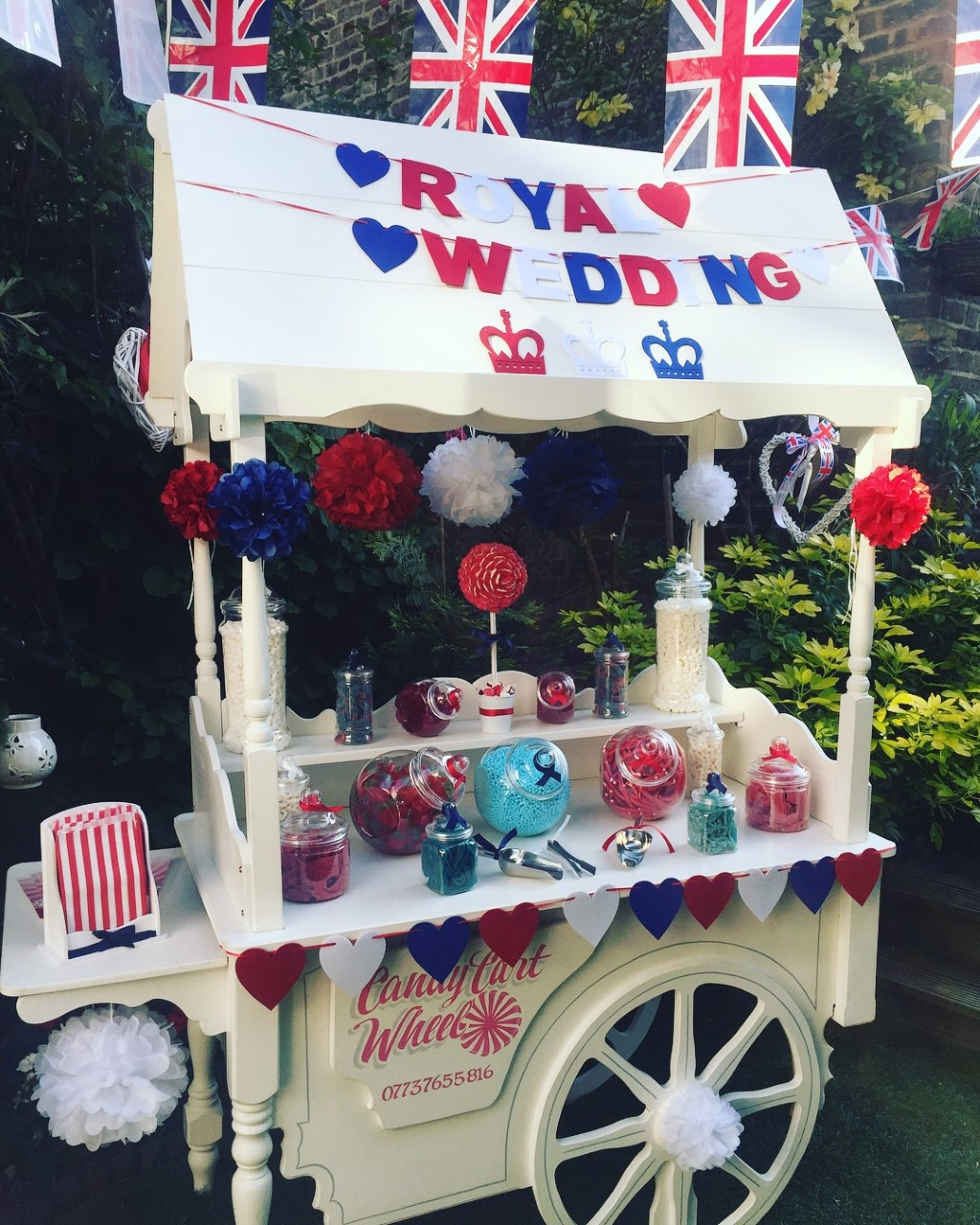 Royal Wedding Sweet Cart